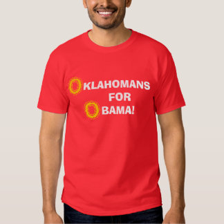 Oklahomans para Obama Poleras