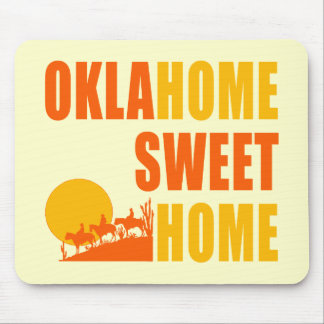 Oklahome Sweet Home Mouse Pad