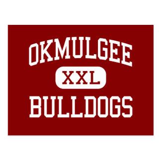 Okmulgee - Bulldogs - High - Okmulgee Oklahoma Postcard