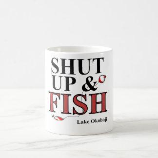 Okoboji shut up coffee mug