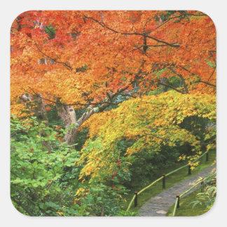 Okochi Sanso, Arashiyama, Kyoto, Japan 2 Square Sticker