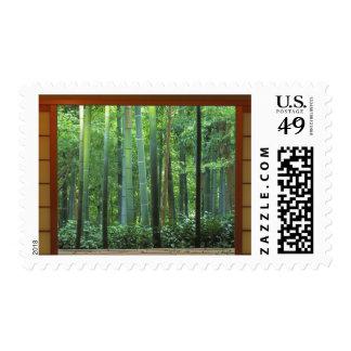 Okochi Sanso, Arashiyama, Kyoto, Japón 3 Timbre Postal