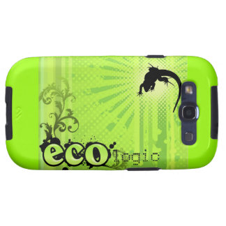 Ökologisches Ursachen-Umwelt-BewusstseinGeckogrün Galaxy SIII Cover