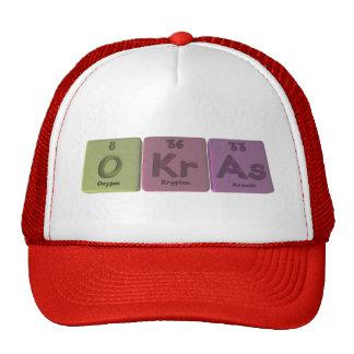 Okras-O-Kr-As-Oxygen-Krypton-Arsenic.png Gorras De Camionero