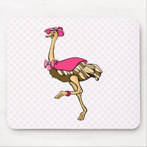 Oksana Ostrich Mouse Pad