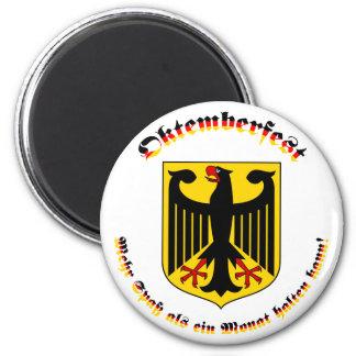 Oktemberfest mit deutschem Wappen Magnet