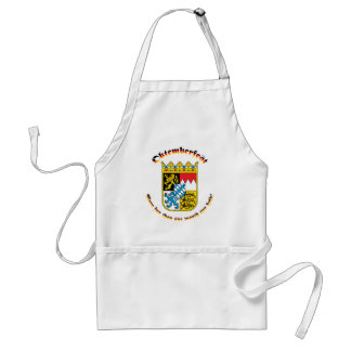 Oktemberfest with Bavarian Arms Adult Apron