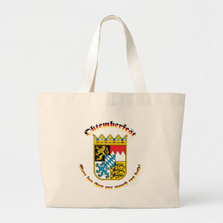 Oktemberfest with Bavarian Arms Canvas Bags