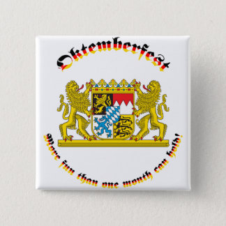 Oktemberfest with Bavarian Greater Arms Button