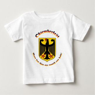 Oktemberfest with German Arms Baby T-Shirt