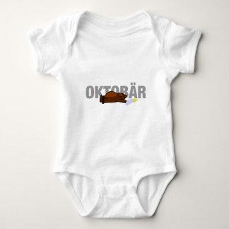 Oktobär (Octobear) Body Para Bebé