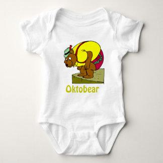 Oktobear 19 baby bodysuit