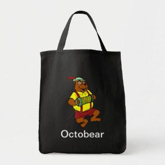 Oktobear 1 tote bags