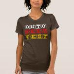 Oktobeerfest: Festival alemán de la cerveza de Okt Camiseta