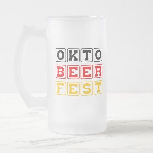 Oktobeerfest: Oktoberfest German Beer Festival Mug
