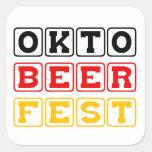 Oktobeerfest: Oktoberfest German Beer Festival Sticker