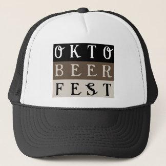 OKTOBEERFEST TRUCKER HAT