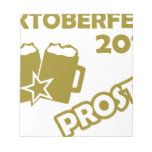 Oktobefest 2013 Prost! Memo Note Pad