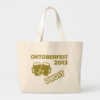 ¡Oktobefest Prost 2013 Bolsas Lienzo