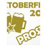 ¡Oktobefest Prost 2013! Membrete Personalizado