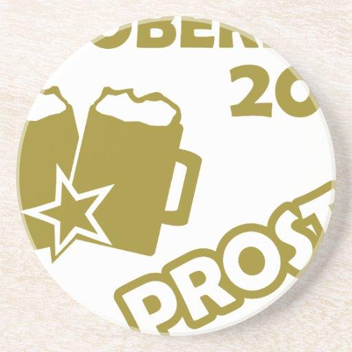 ¡Oktobefest Prost 2013! Posavasos Diseño