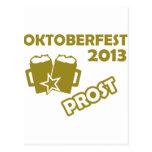 ¡Oktobefest Prost 2013! Postales