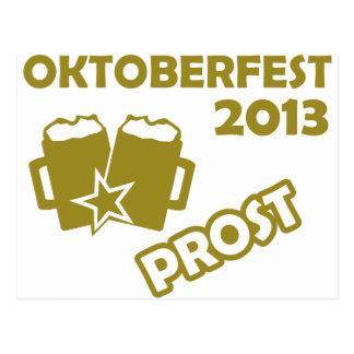 ¡Oktobefest Prost 2013 Tarjetas Postales
