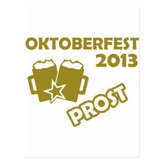 ¡Oktobefest Prost 2013 Postales