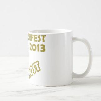 ¡Oktobefest Prost 2013! Taza De Café