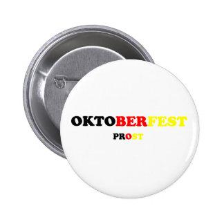 Oktober Fest Prost Pinback Button