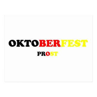 Oktober Fest Prost Postcard