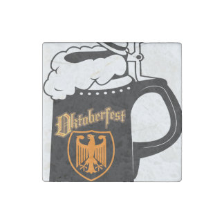 Oktoberest Beer Stein Stone Magnet