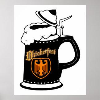 Oktoberest Beer Stein Poster
