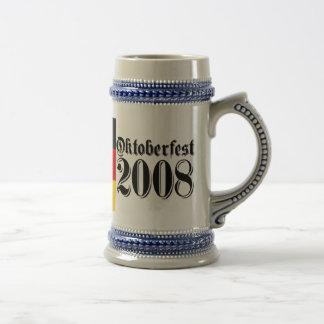 """""""Oktoberfest 2008"""" Beer Stein"""