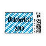 Oktoberfest 2010 Bavaria Flag Postage Stamp