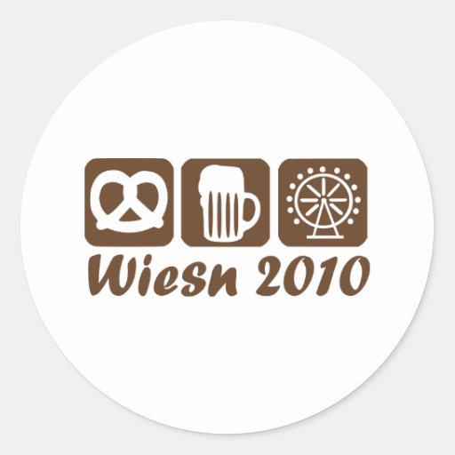 Oktoberfest 2010 - Munich Classic Round Sticker