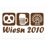 Oktoberfest 2010 - Munich Postcard