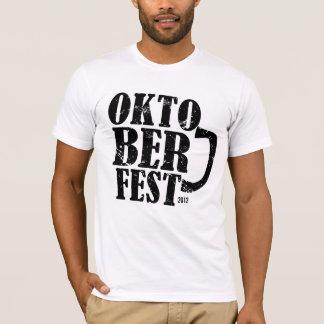 Oktoberfest 2012 - Black distressed T-Shirt