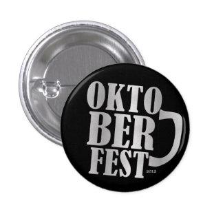 Oktoberfest 2012 - Gold Pinback Button