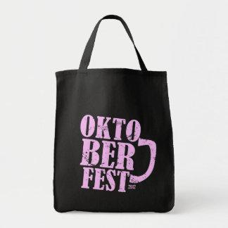 Oktoberfest 2012 - Pink distressed Tote Bag