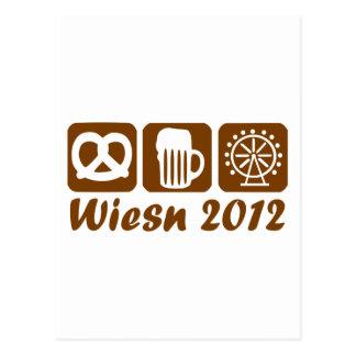 Oktoberfest 2012 postcard