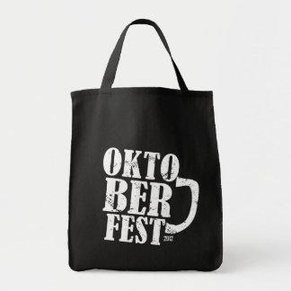 Oktoberfest 2012 - White distressed Canvas Bag