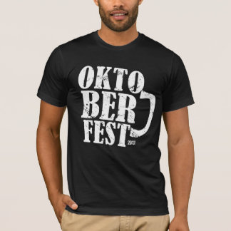 Oktoberfest 2012 - White distressed T-Shirt