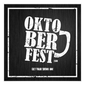 Oktoberfest 2013 - Blanco apenado Anuncio Personalizado