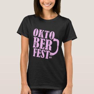 Oktoberfest 2013 - Pink distressed T-Shirt
