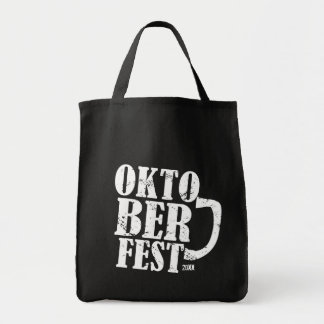 Oktoberfest 2013 - White distressed Tote Bags