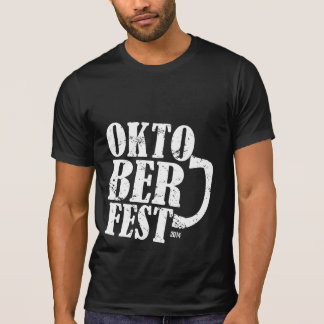 Oktoberfest 2014 - White distressed T Shirts