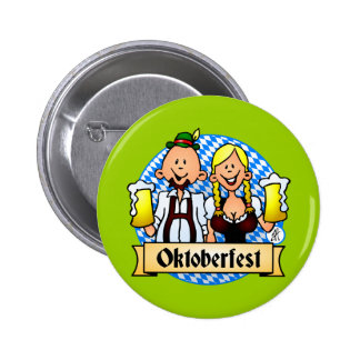 Oktoberfest 2 Inch Round Button