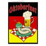 Oktoberfest Alemania Tarjeton