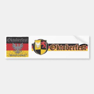 Oktoberfest apenó la bandera pegatina para auto